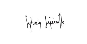 Signature Sylvain Senecaille