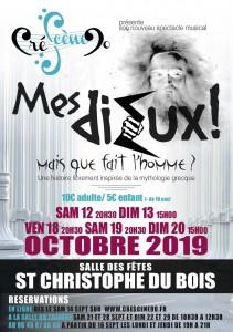 Comédie musicale - Cré-Scène-Do @ Théâtre | Saint-Christophe-du-Bois | Pays de la Loire | France