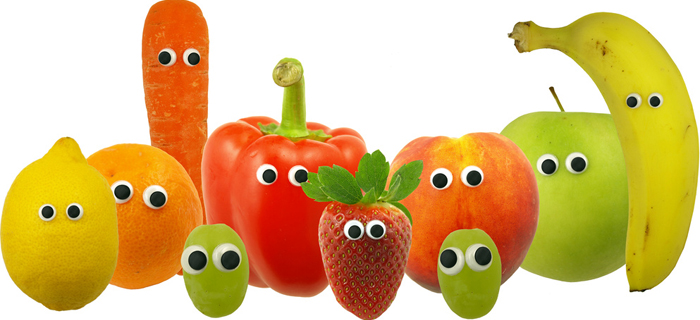 Friendly Fruit and Vegetables