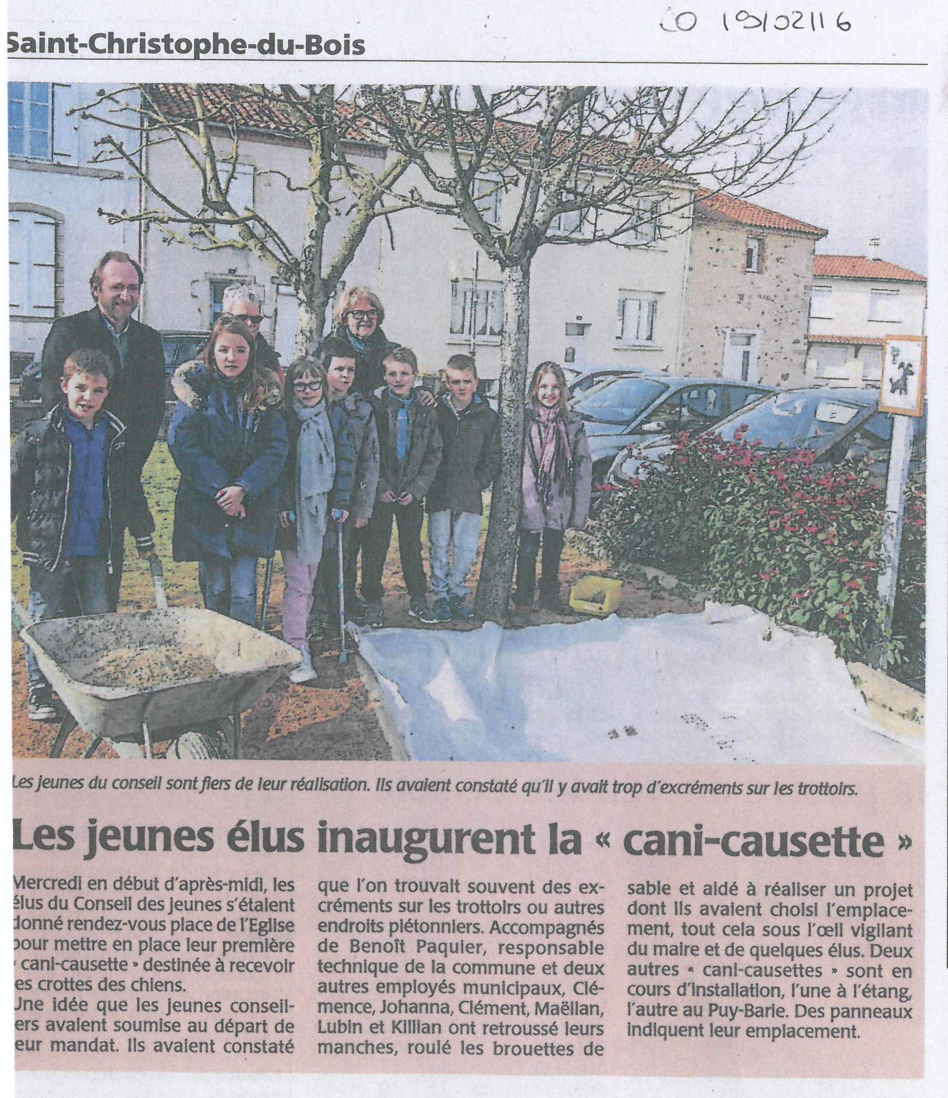 Art. CO 19022016 - Cani-causette