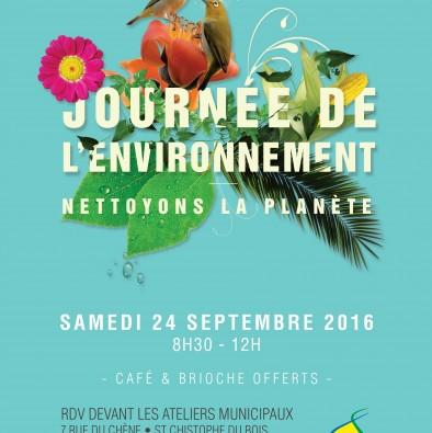 Journée de l'environnement !