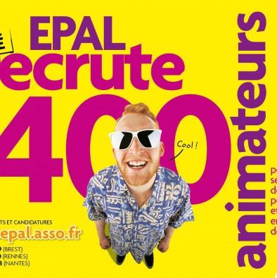 EPAL recrute 400 animateurs !