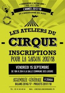 INSCRIPTIONS NEZ QUI LIBRE @ Maison Commune des Loisirs