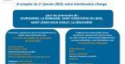 Info impôts : Transfert au Service des Impôts des Particuliers de Cholet  à compter du 1er janvier 2018