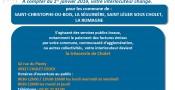 Info : Trésorerie de Cholet à compter du 1er janvier 2019