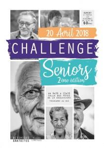 Challenge Seniors 2ème édition !