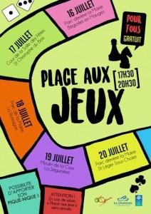 """""""Place aux Jeux"""" CSI Ocsigène @ Cour de la salle des fêtes"""