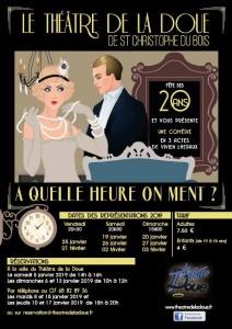 Théâtre de la Doue : A quelle heure on ment ?