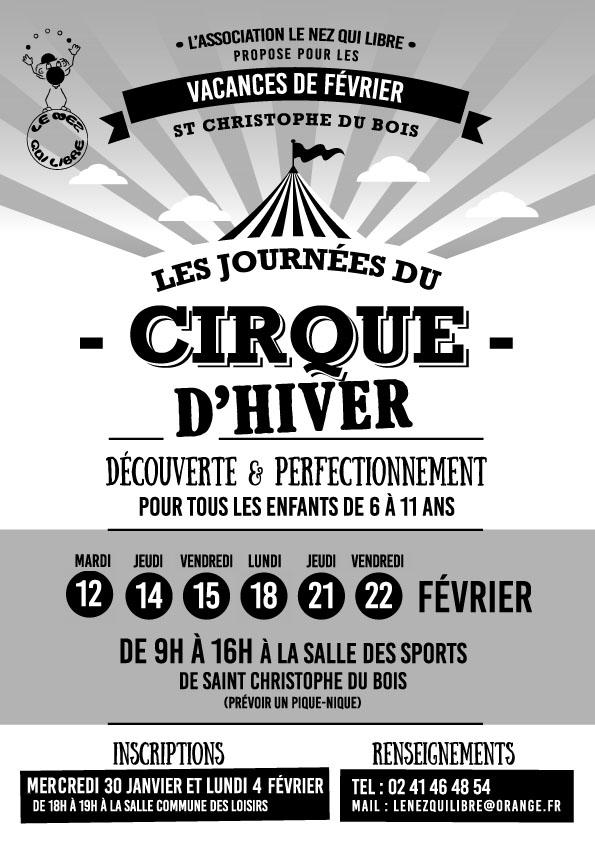 Cirque vacances fevrier