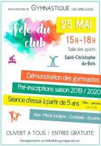 Gymnastique - Fête du Club @ salle des sports