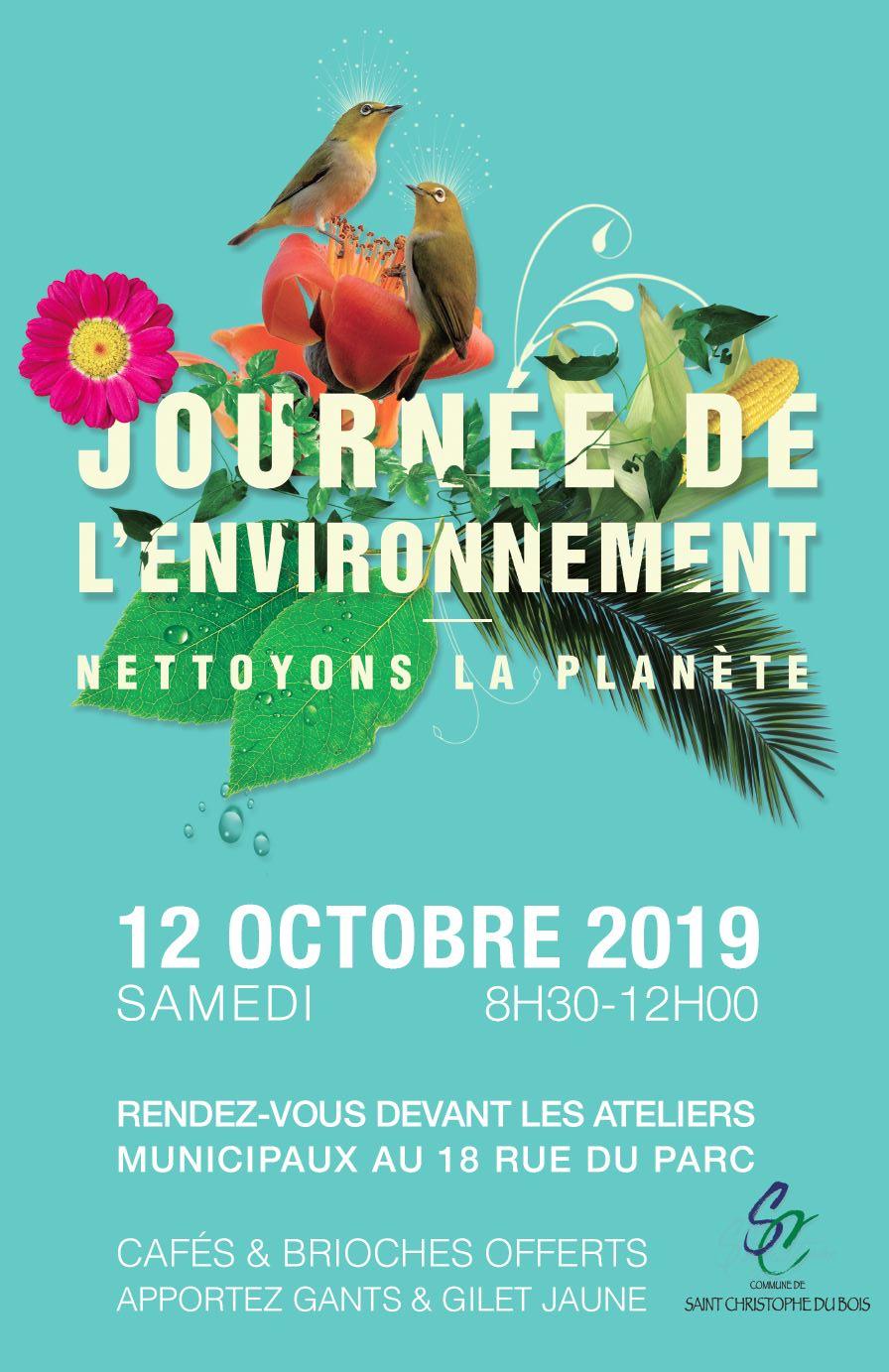 12 octobre journée de l'environnment