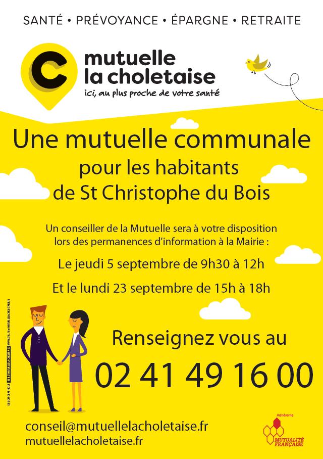 Encart Permanences Mairie St Christophe du Bois
