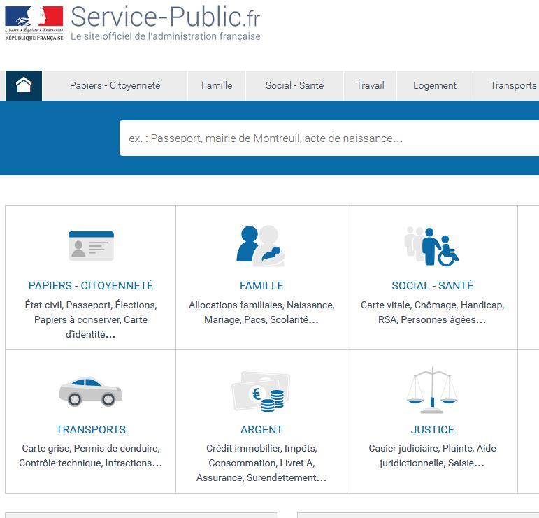 Une service public