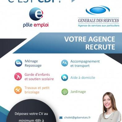 Recrutement : GENERALE DES SERVICES