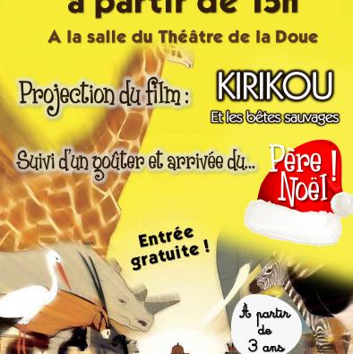 Projection du film Kirikou !