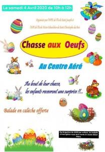 Chasses aux oeufs (2 écoles) ANNULÉ !