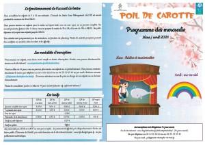 Programme P2K Mars Avril mercredis_page-0001